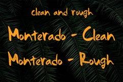 Monterado - Handwritten Brush Font Product Image 2