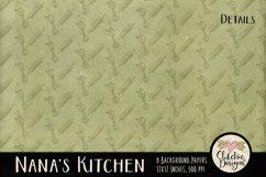 Nana's Kitchen Digital Scrapbook Kit Product Image 4