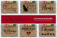 Cat Doormat Bundle SVG|DXF Cut File Product Image 1