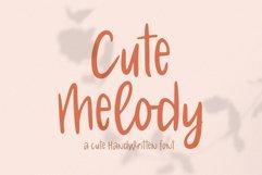 Cute Melody // Cute Handwritten Font Product Image 1