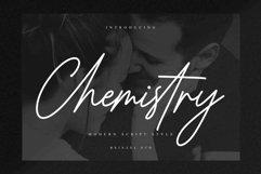 Chemistry Signature / Script Font Product Image 1