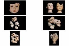 113 Broken Halloween Horror Doll Parts Head Legs Hands Product Image 4