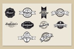 Bakery & Pastry Vintage logo Product Image 4