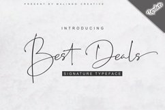 Best Deals | Signature Typeface Product Image 1