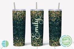 Skinny Tumbler Sublimation Design - Confetti - Customizable Product Image 1