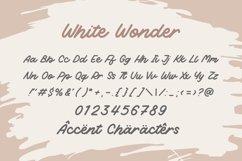 White Wonder Fat Monoline Handwritten Font Product Image 6