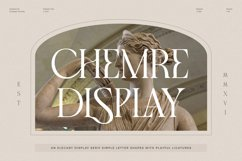 Chemre - Elegant Serif Product Image 1