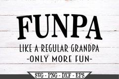 Funpa Funny Grandpa SVG Product Image 2