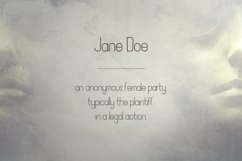 JaneDoe Sans Serif font Product Image 5