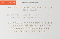 Visual Hollow Font Trio Product Image 3