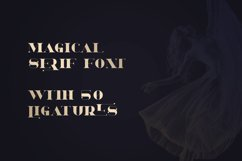 Dream - Magical Serif Font Product Image 2