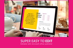 Recipe eBook Template Easy Editable Using Ms Publisher Product Image 3