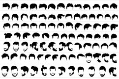 Male and female hairstyles templates Product Image 2