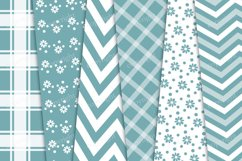 Gingham, striped and floral pattern Product Image 3
