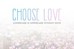 Morning Rain Font with Dots Product Image 2