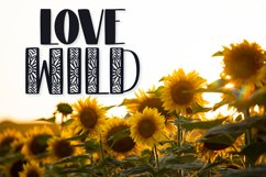 Sunflower - A Sunflower Duo Font Product Image 2