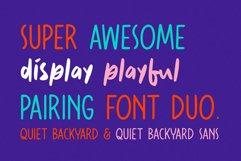 Quiet Backyard Font Duo Product Image 2