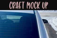 Rear car window Craft mock up |High Res JPEG Product Image 2