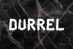 Web Font Durrel Font Product Image 1