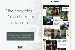 """Instagram Puzzle Feed Template """"The Storyteller"""" Product Image 1"""
