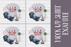 Love All My Gnomies PNG File / Sublimation Clipart File Product Image 2