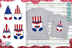 Patriotic Gnome set svg 4th of July SVG Product Image 1