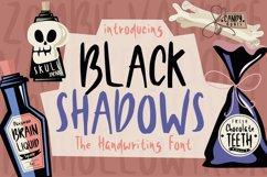 Black Shadows Font Product Image 1