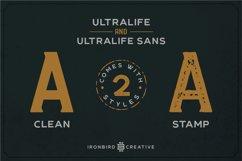 Ultralife Typeface Product Image 6