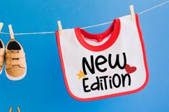 New Edition Baby Bib SVGs Product Image 3
