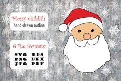 Christmas SVG Santa Claus Pack Product Image 2