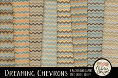 Dreaming Chevron Beachy Background Textures Product Image 1