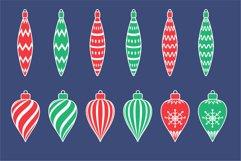 Christmas toys, Christmas ornament svg Product Image 2