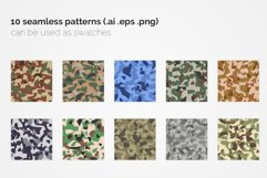 India Polygon Camouflage Patterns Product Image 2
