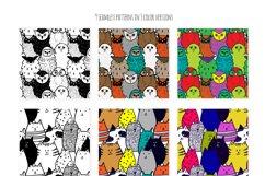 Cute doodle animals set Product Image 3