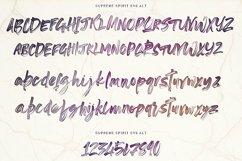 Supreme Spirit Brush Font Product Image 6