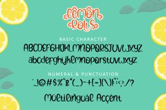 Lemon Rolls - A Cute and Quirky Font Product Image 6
