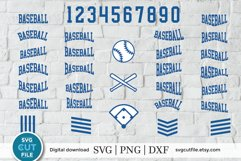 Baseball svg, Baseball bundle svg, baseball svg bundle Product Image 1