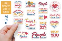 Small Business Stickers Bundle | 16 Packaging Stickers Product Image 1