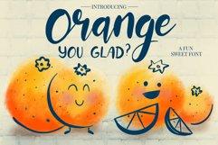 Orange You Glad? Font Product Image 1