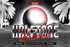 14 Halftone Procreate & PS Brushes Product Image 1