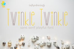 Twinkle Twinkle Font Product Image 1