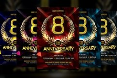 Anniversary Flyer Product Image 5