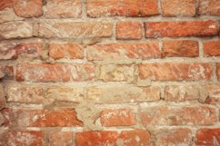 texture of old red brick, brickwork Product Image 1