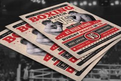 Boxing Match Flyer Product Image 4