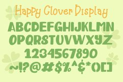 Happy Clover Font Duo Product Image 6