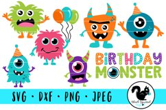 Cute Monsters Birthday Bash Bundle, Little Monster Party Product Image 1
