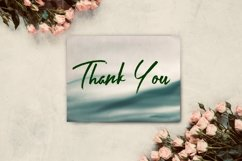 12 Dark Green Watercolor Ombre Backgrounds Product Image 4