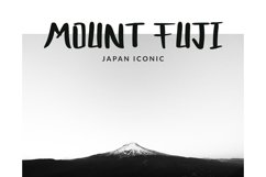 Bocast Japan Style Display Font Product Image 6