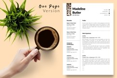 Animal Care Resume Template for Word & Pages Madeline Butler Product Image 2