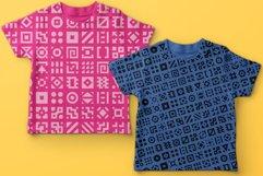 GeoBlocks - a geometric font set of blocks and shapes! Product Image 8